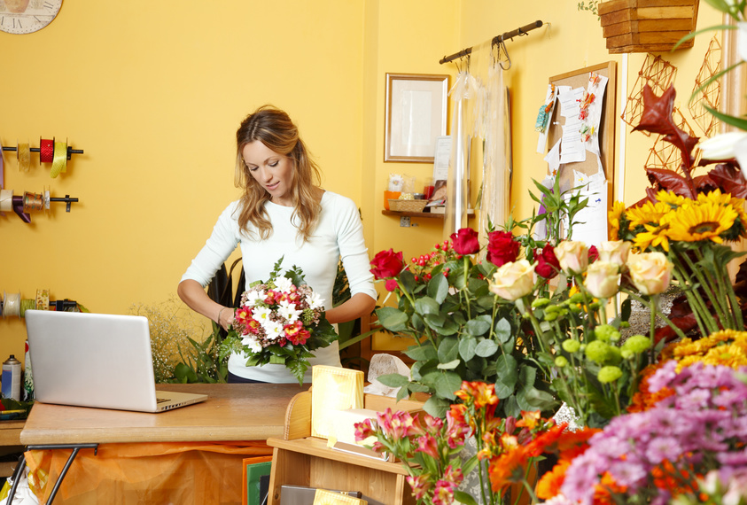 big banks, small loans and flower shops