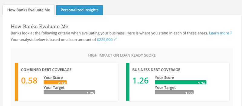 Advisor Combined Debt Coverage