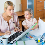Working with Kids Home – Strategies for Success